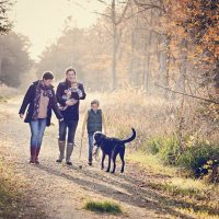 Outdoor and at home family lifestyle photography