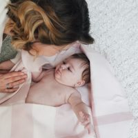 Lifestyle new baby photography at home for authentic natural portraits