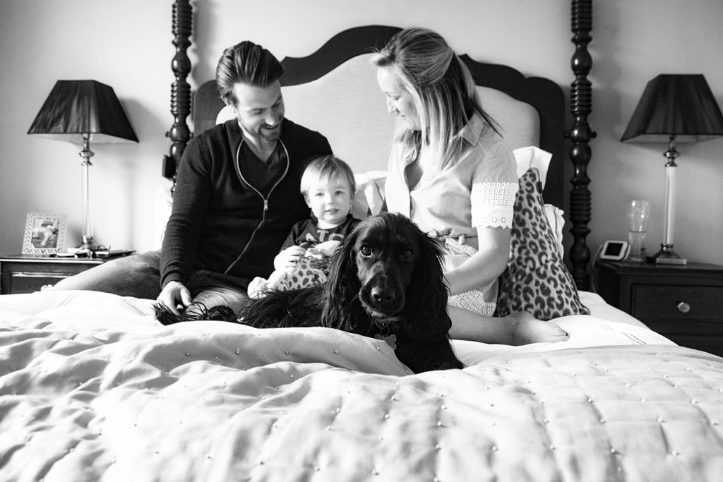 Dog and family portrait photography in Milton Keynes