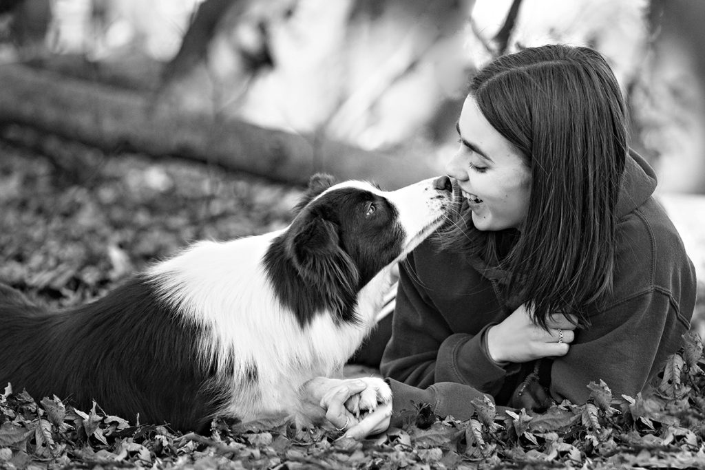 Dog and owner portrait photography in Milton Keynes